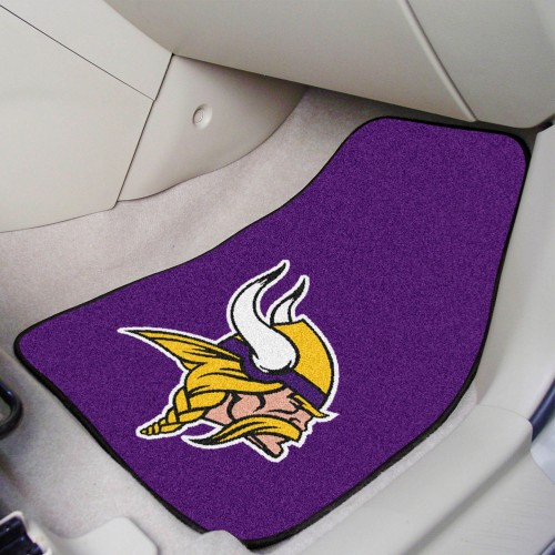 NFL - Minnesota Vikings 2-pc Carpeted Car Mats 17