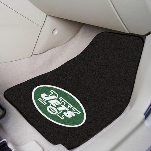 NFL - New York Jets 2-pc Carpeted Car Mats 17