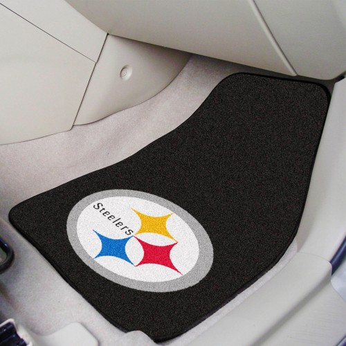 NFL - Pittsburgh Steelers 2-pc Carpeted Car Mats 17