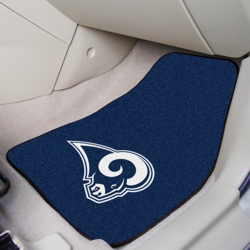 NFL - Los Angeles Rams 2-pc Carpeted Car Mats 17