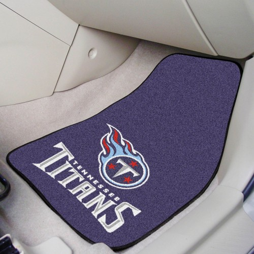 NFL - Tennessee Titans 2-pc Carpeted Car Mats 17