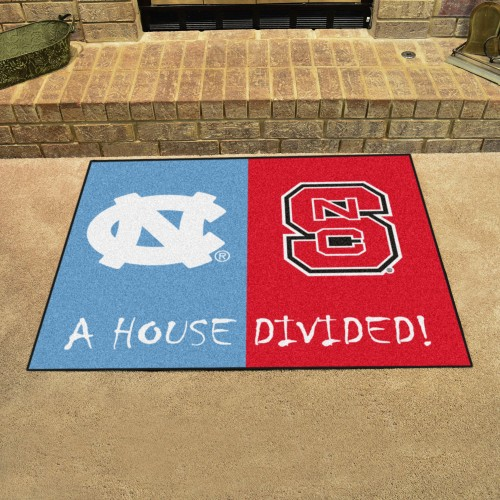 North Carolina - NC State House Divided Rug 33.75