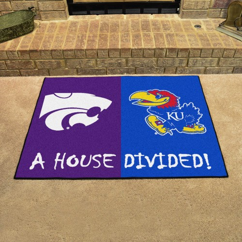 Kansas - Kansas State House Divided Rug 33.75