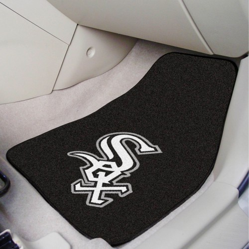 MLB - Chicago White Sox 2-pc Carpeted Car Mats 17