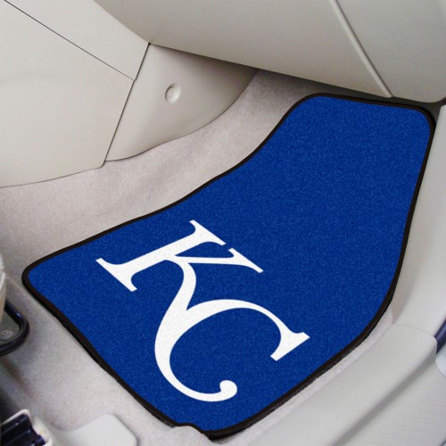 MLB - Kansas City Royals 2-pc Carpeted Car Mats 17