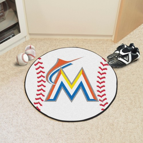 MLB - Miami Marlins Baseball Mat 27