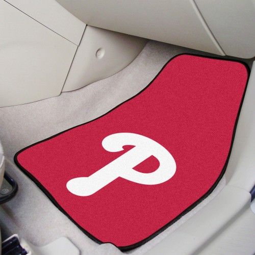 MLB - Philadelphia Phillies 2-pc Carpeted Car Mats 17