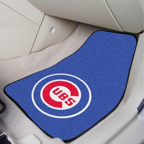 MLB - Chicago Cubs 2-pc Carpeted Car Mats 17