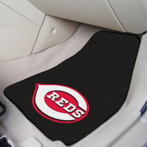 MLB - Cincinnati Reds 2-pc Carpeted Car Mats 17