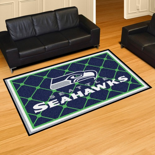 NFL - Seattle Seahawks 5'x8' Rug