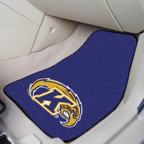 Kent State 2-pc Carpeted Car Mats 17