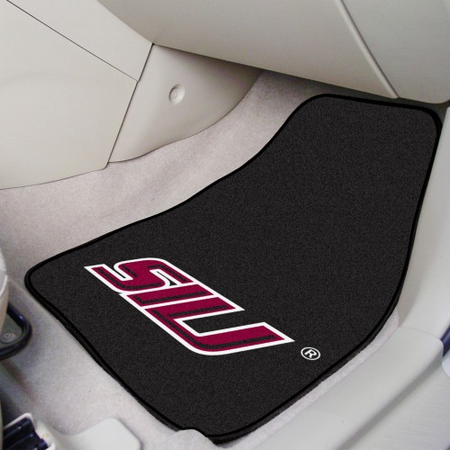 Southern Illinois 2-pc Carpeted Car Mats 17