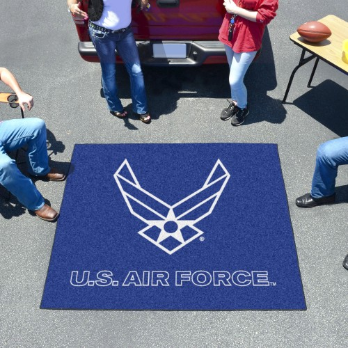 Air Force Tailgater Rug 5'x6'
