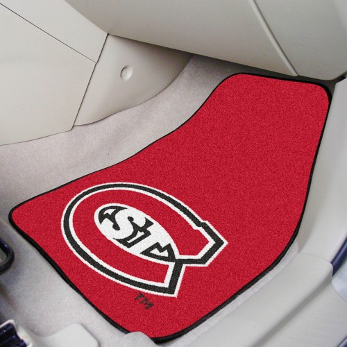 St. Cloud State 2-pc Carpeted Car Mats 17