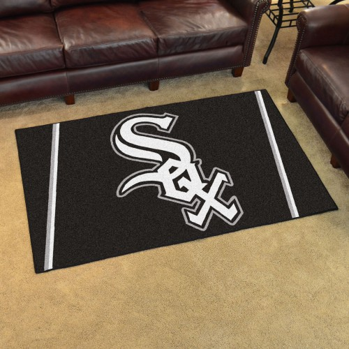 MLB - Chicago White Sox 4'x6' Rug