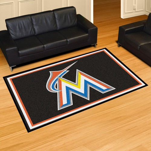 MLB - Miami Marlins 5'x8' Rug