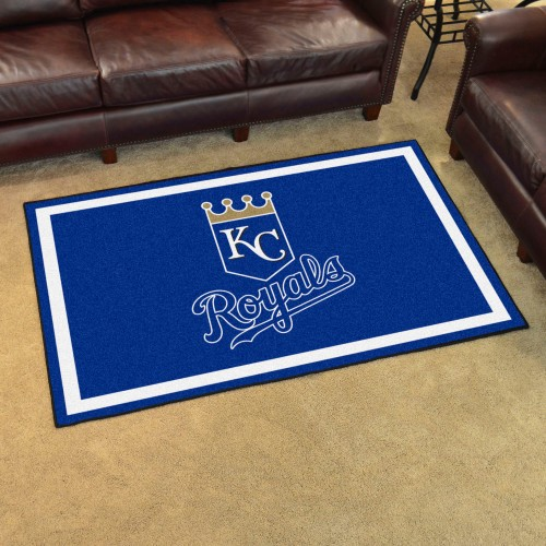 MLB - Kansas City Royals 4'x6' Rug
