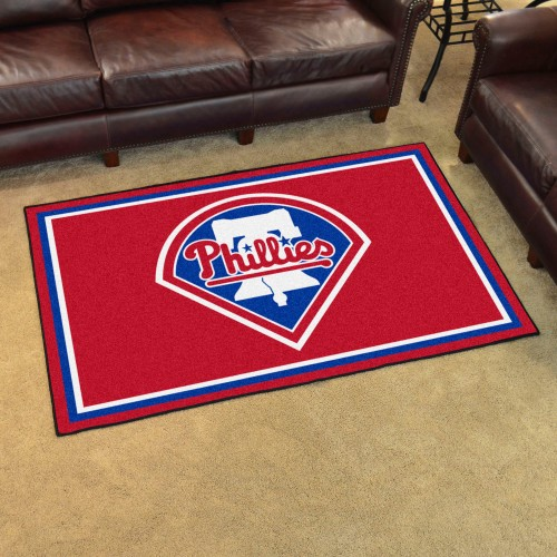 MLB - Philadelphia Phillies 4'x6' Rug