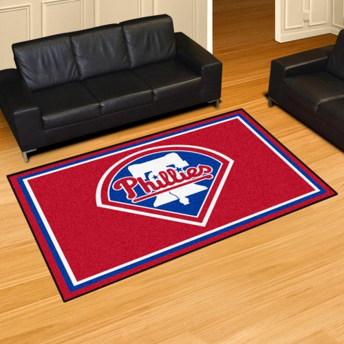 MLB - Philadelphia Phillies 5'x8' Rug