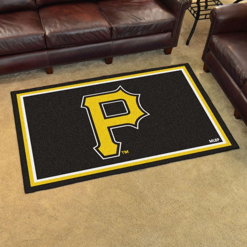 MLB - Pittsburgh Pirates 4'x6' Rug