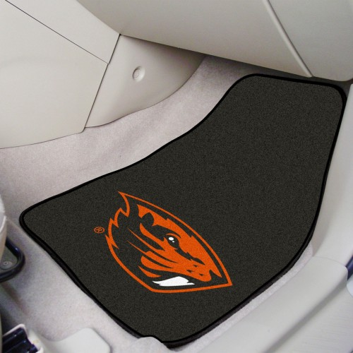 Oregon State 2-pc Carpeted Car Mats 17