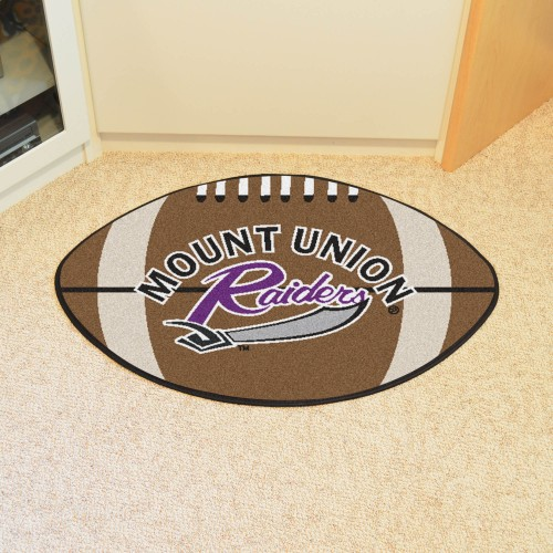 Mount Union Football Rug 20.5