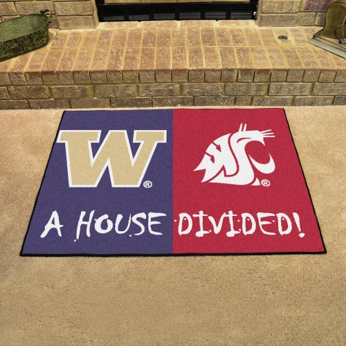 Washington - Washington State House Divided Rug 33.75