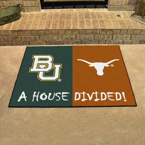 Baylor - Texas House Divided Rug 33.75