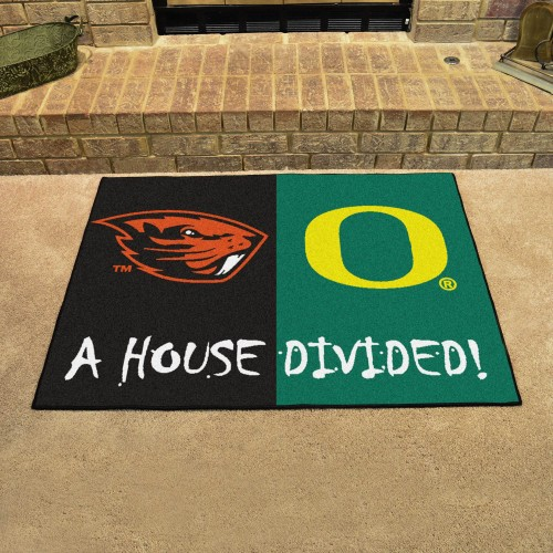 Oregon - Oregon State House Divided Rug 33.75