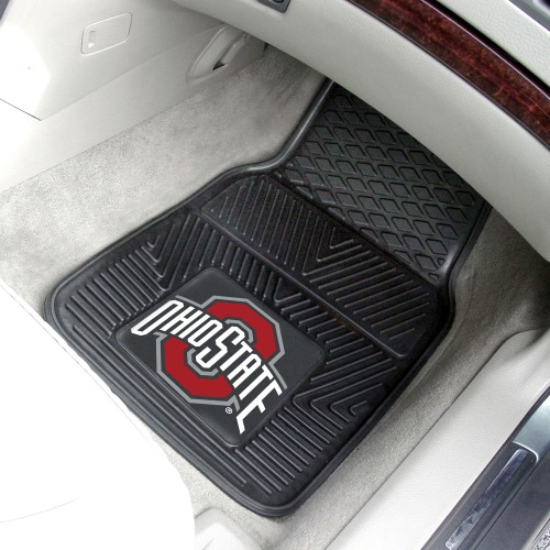 Ohio State 2-pc Vinyl Car Mats 17