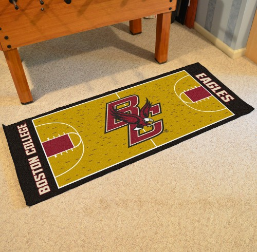 Boston College Basketball Court Runner 30