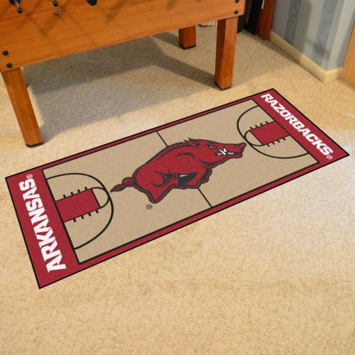 Arkansas Basketball Court Runner 30