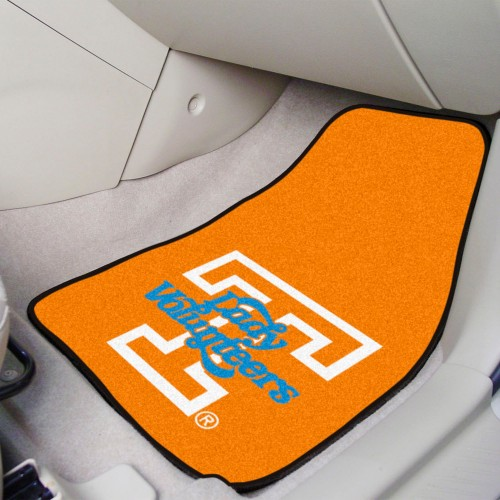 Tennessee 2-pc Carpeted Car Mats 17