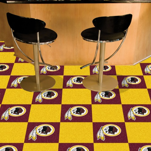 "NFL - Washington Football 18""x18"" Carpet Tiles"
