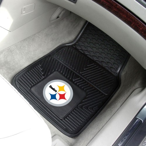 NFL - Pittsburgh Steelers 2-pc Vinyl Car Mats 17