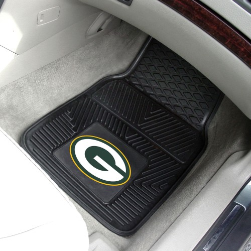 NFL - Green Bay Packers 2-pc Vinyl Car Mats 17
