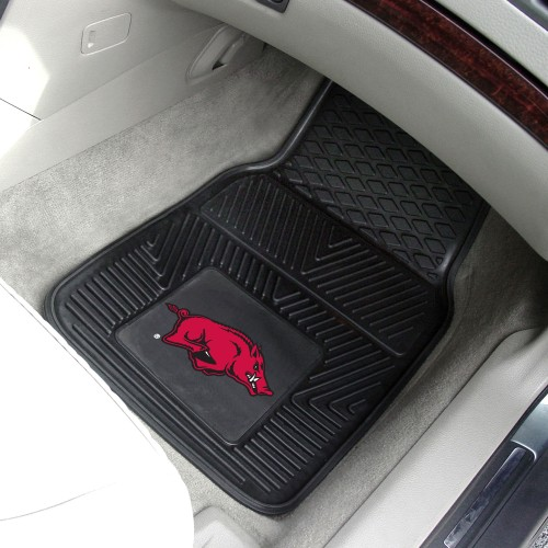 Arkansas 2-pc Vinyl Car Mats 17