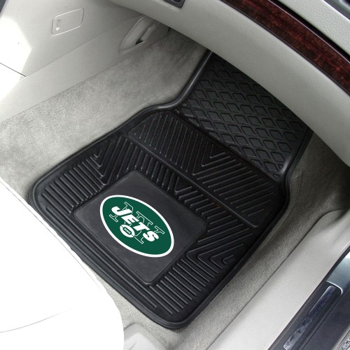 NFL - New York Jets 2-pc Vinyl Car Mats 17