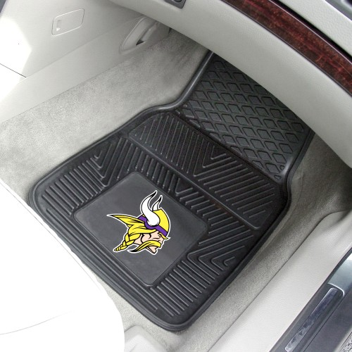 NFL - Minnesota Vikings 2-pc Vinyl Car Mats 17
