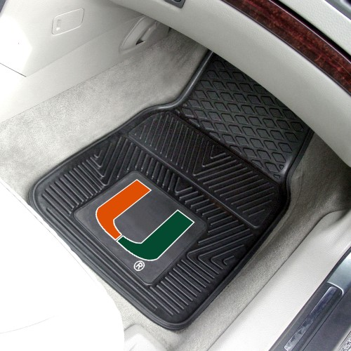 Miami 2-pc Vinyl Car Mats 17