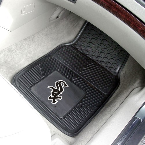 "MLB - Chicago White Sox 2-pc Vinyl Car Mats 17""x27"""