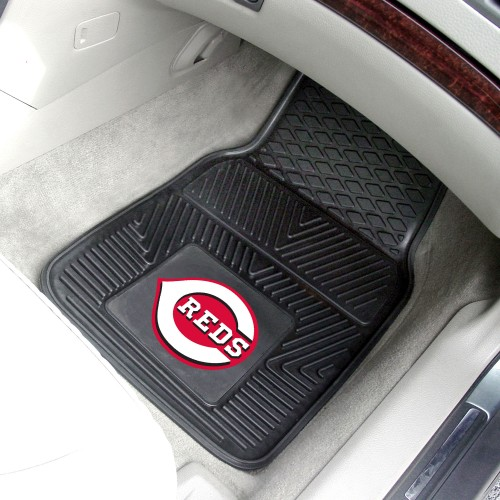 MLB - Cincinnati Reds 2-pc Vinyl Car Mats 17