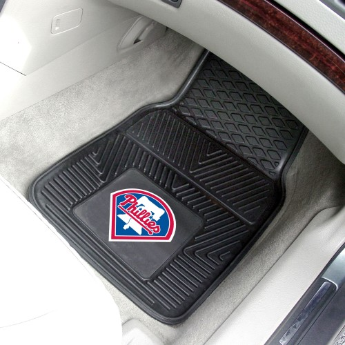 MLB - Philadelphia Phillies 2-pc Vinyl Car Mats 17