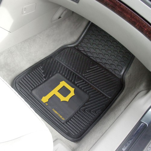 MLB - Pittsburgh Pirates 2-pc Vinyl Car Mats 17