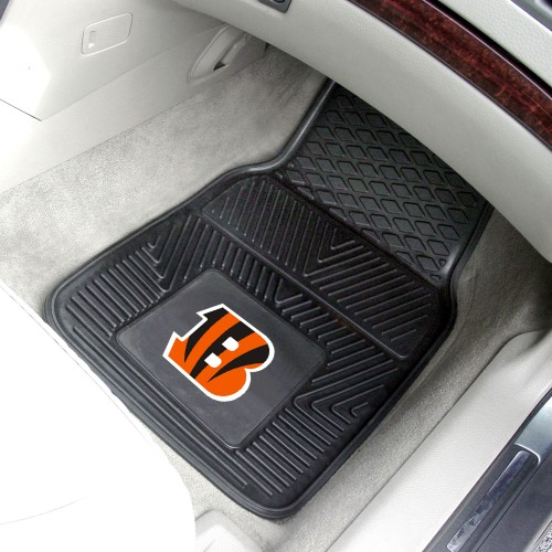 NFL - Cincinnati Bengals 2-pc Vinyl Car Mats 17