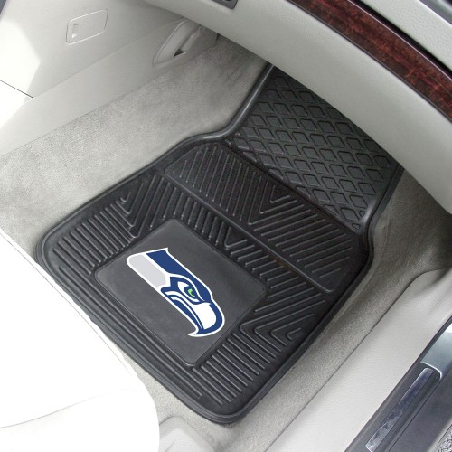 NFL - Seattle Seahawks 2-pc Vinyl Car Mats 17
