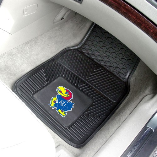 Kansas 2-pc Vinyl Car Mats 17