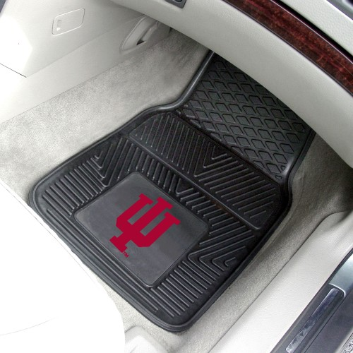 Indiana 2-pc Vinyl Car Mats 17