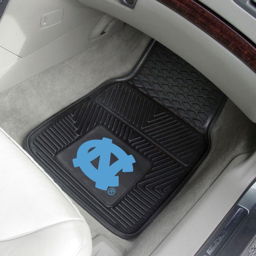 North Carolina 2-pc Vinyl Car Mats 17