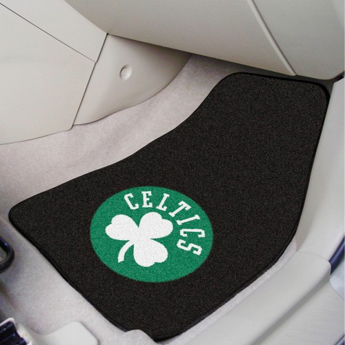 NBA - Boston Celtics 2-pc Carpeted Car Mats 17